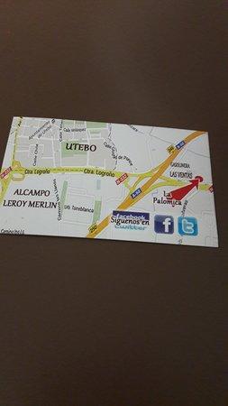 Utebo, Spanien: tarjeta del local