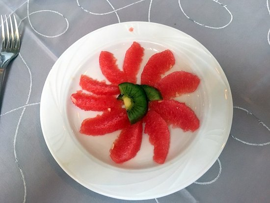La Concha: Breakfast grapefruit