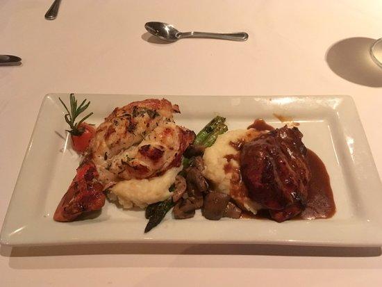 La Concha: Surf & Turf - Lobster and Filet Migon