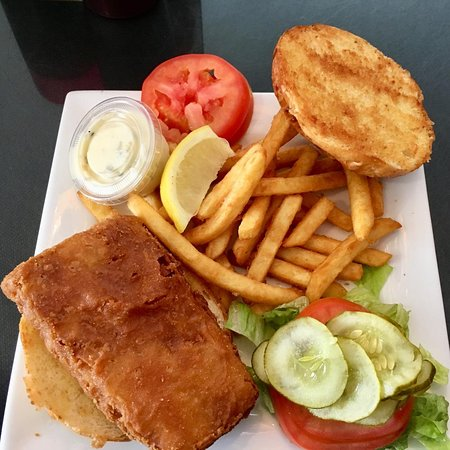 Sandusky, MI: Fish Sandwich