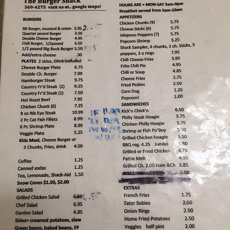 Aberdeen, MS: Burger Shack