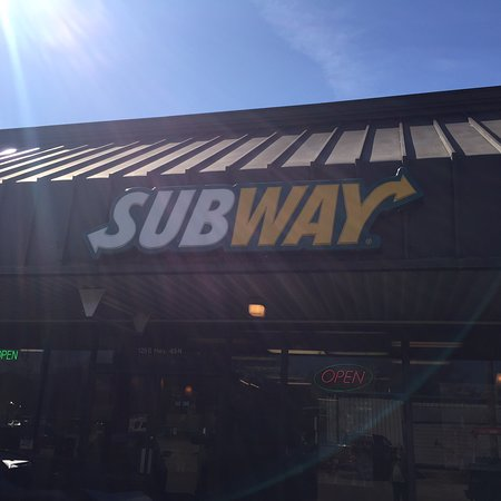 Subway in Aberdeen- located in the Upper Deck shopping center on Hwy 145