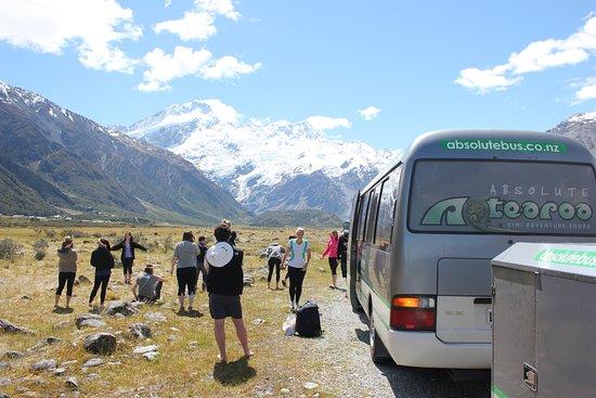 Ταούπο, Νέα Ζηλανδία: Taking in the scenery at Mt Cook