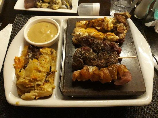 Stonegrill Steakhouse: assortiment de viande