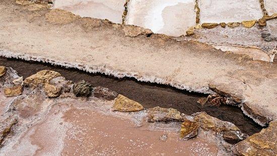 Maras, Perú: A água da fonte milenar