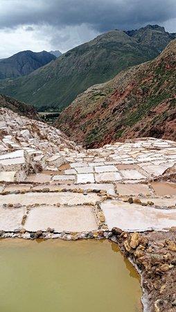 Maras, Perú: Vista do que pode ser chamado de mirante