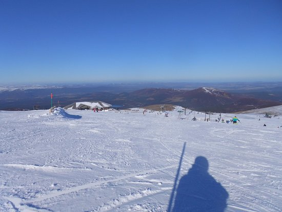 Aviemore, UK: From (almost) the top of the Ptarmigan Bowl