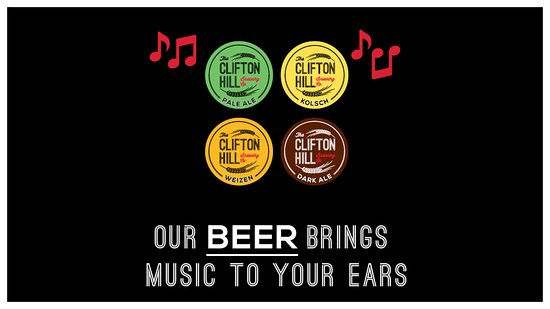 Clifton Hill, Australia: A sample of our many in house award winning brews