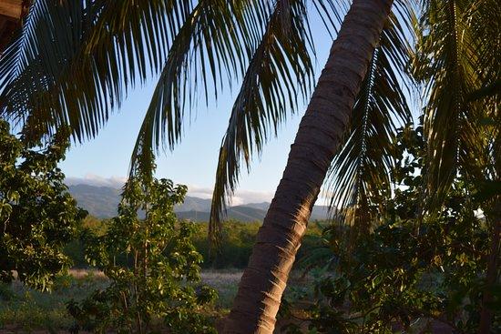 La Boca, คิวบา: Vue à l'arrière de la Villa Hermosa