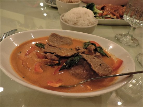 Auburn, ME: Panaeng Beef Curry