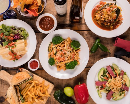 Canyon Cafe: From enchiladas to salads to pastas. All with their own southwestern flare.