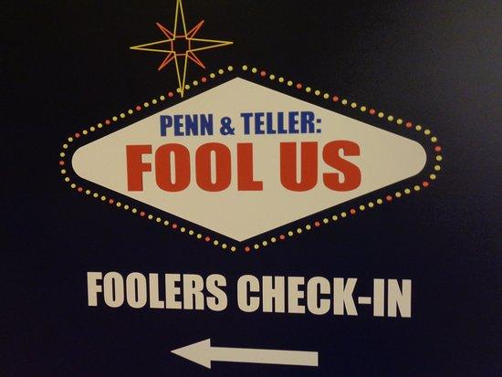 Penn & Teller : Taping TV Show