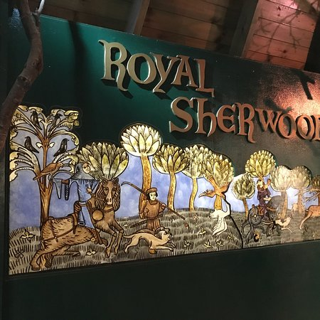 Nottinghamshire, UK: Sherwood Forest, museum, and craftsman stores