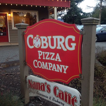 Coburg, OR: Look for the sign!