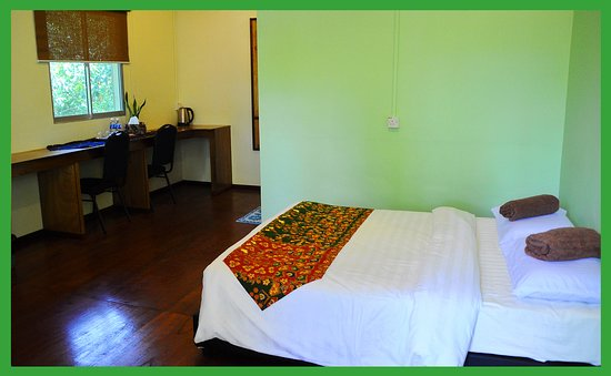 Sukau Greenview Bed & Breakfast: Double Green House