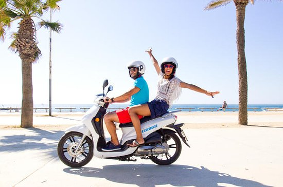 Barcelona: Scooter-Verleih