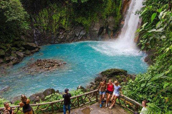 Randonnée à Rio Celeste et au volcan...