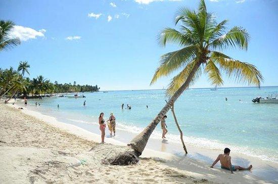 Día de playa en isla Saona