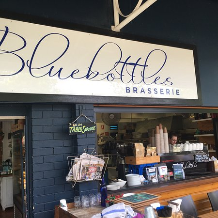 Woolgoolga, Australia: Another awesome meal from @bluebottles.  You just can't go past this place