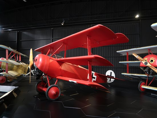Omaka Aviation Heritage Centre: Red Baron aircraft (replica)