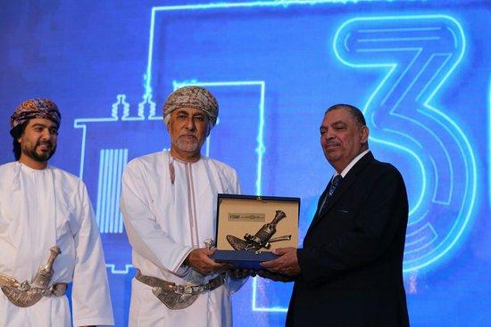 His Highness Sayyd Shehab bin Tarek present me Voltamp Oman's award