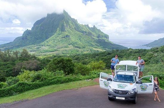 Private Morning Moorea 4WD Tour mit ...
