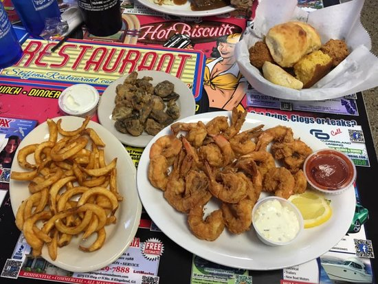 Kingsland, GA: Fried Shrimp dinner