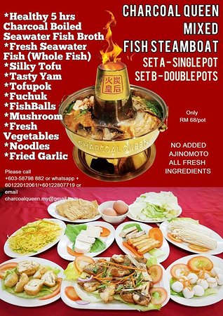Only RM68/pot Sea Water Fish Set for 2-3pax - Picture of