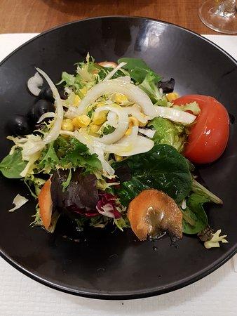 salad was nice