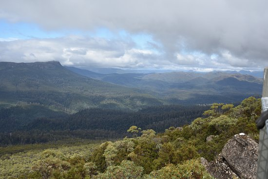 Maydena, Australien: View from the summit