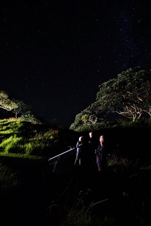Tryphena, New Zealand: Pah point stargazers (photo: HIlde Hoven)