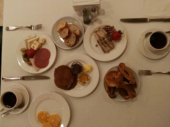 The Central Palace: delicious breakfast