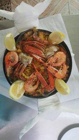 Restaurante Raul: Paella mixta