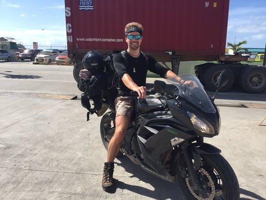 Jack from London had 6 great days on our Kawasaki Ninja 650