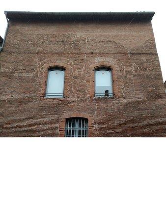 Vieille-Toulouse, ฝรั่งเศส: Fachada.