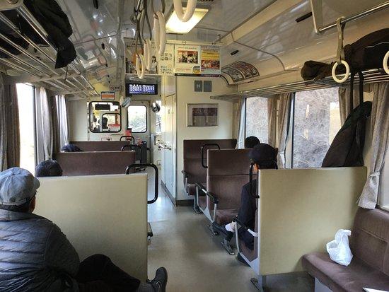 Kinki (bölge), Japonya: 山陰本線の車内