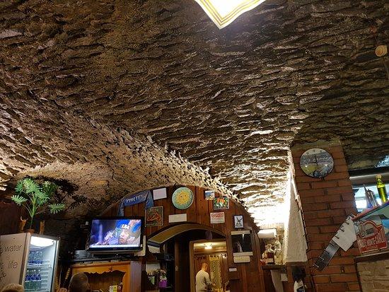 Etroubles, Italien: Particolare delle volte del soffitto