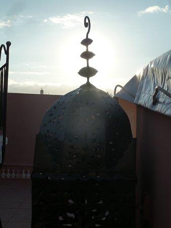 Riad Al Karama : terrasse