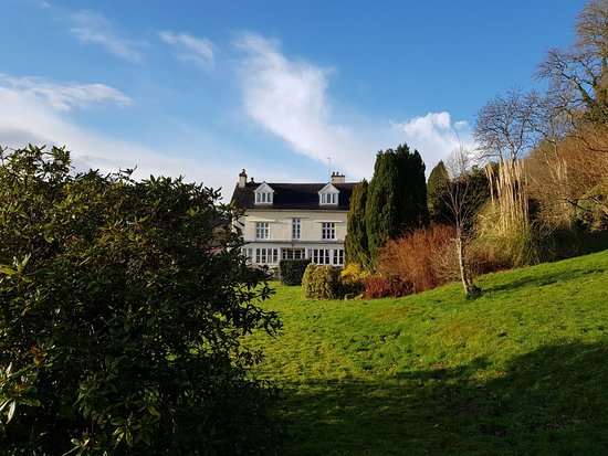 Lustleigh, UK: Eastwrey Barton Country house and grounds