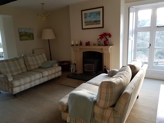 Lustleigh, UK: Guest sitting room
