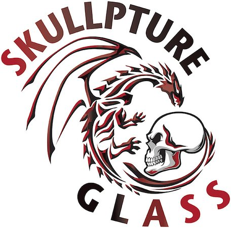 ‪Skullpture Glass‬