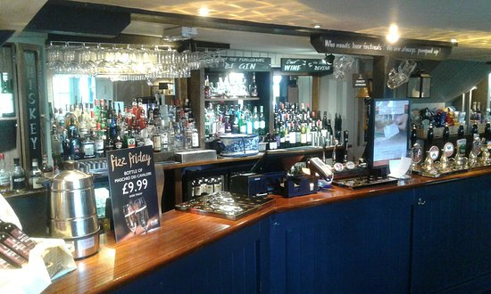 Thames Ditton, UK: Bar Area