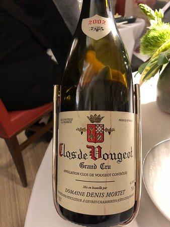 Maison Lameloise : Le vin