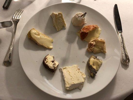 Maison Lameloise : Les fromages de Bourgogne