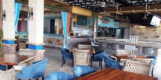 Golfito Marina Village Resort La Playa Beachfront Restaurant Bar Grill
