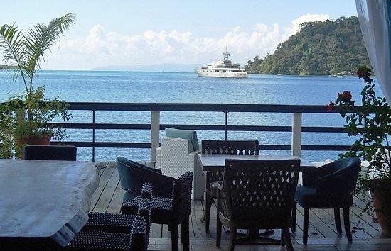 Golfito Marina Village Resort Enjoy Waterfront Dining At La Playa Restaurant