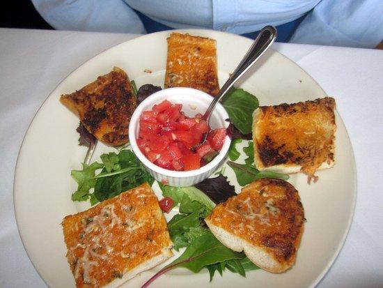 Christine's Restauant: Tomato Bruschetta