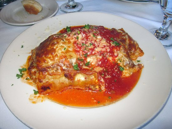 Yardley, PA: Lasagna (large portion)
