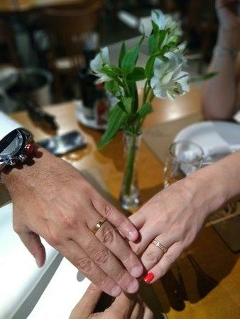 Comemoração de casamento