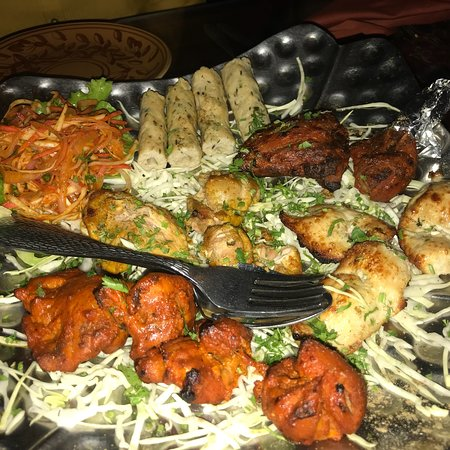 North Indian food in village setup…